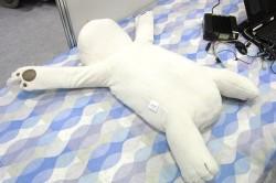 Подушка-медвежонок от храпа