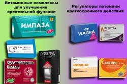 Препараты для улучшения потенции
