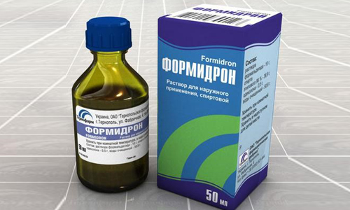 Раствор от гипергидроза Формидрон