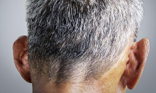Борьба с седыми волосами