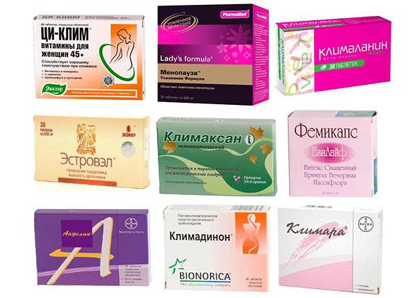 Таблетки при климаксе (от приливов) 10 лучших препаратов