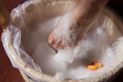 Ванночки с хозяйственным мылом