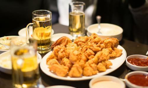 Вред жирной пищи и алкоголя
