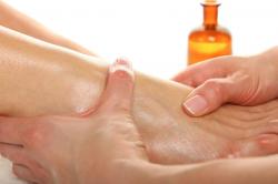 Втирание масла в кожу