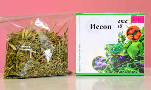 Лекарственная трава иссоп
