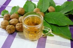 Настойка из листьев грецкого ореха