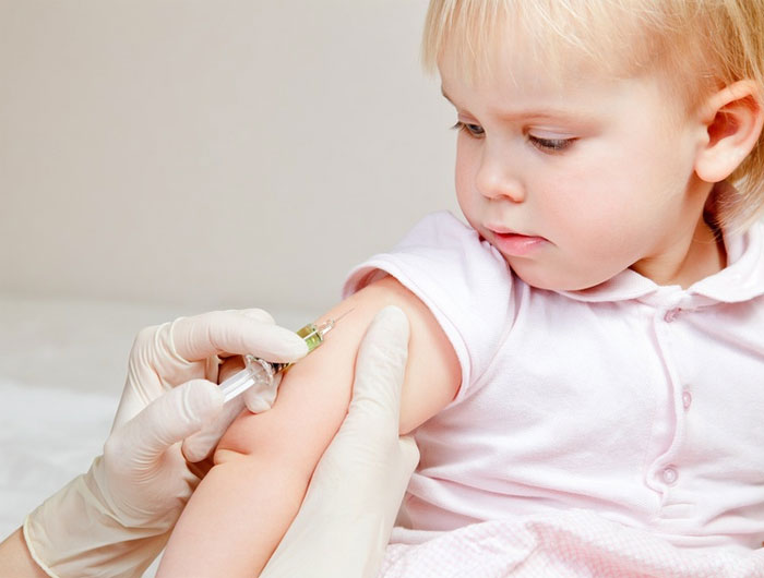 Прививка ребенку от свинки
