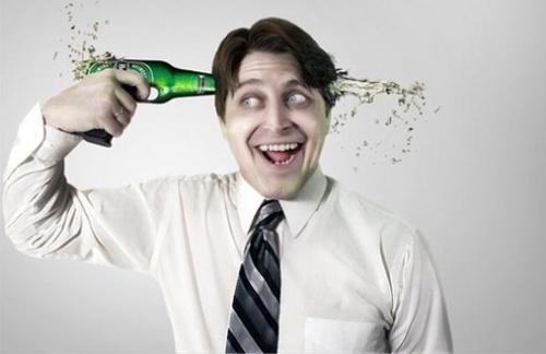 Влияние пива на мозг