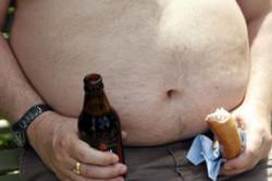 Влияние пива и вредной еды на организм