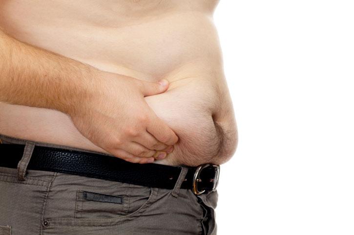 подкожный жир на животе у мужчин причины