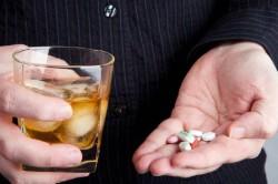 Употребление препаратов от алкоголем