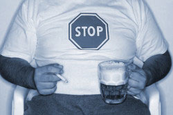 Отказ от курения и алкоголя перед сдачей анализов