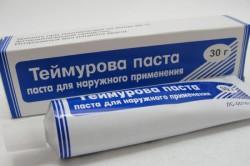 Использование пасты Теймурова