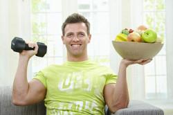 Правильное питание и физические упражнения