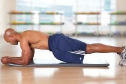 Упражнение 3: удерживание корпуса вертикально