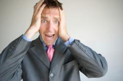 Стресс может быть причиной покраснений