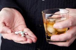 Можно ли пить виагру с алкоголем
