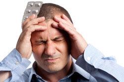 Сильная головная боль при паротите