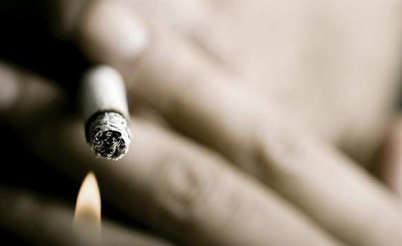 Курение сигерет