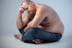 Лишние килограммы у мужчин
