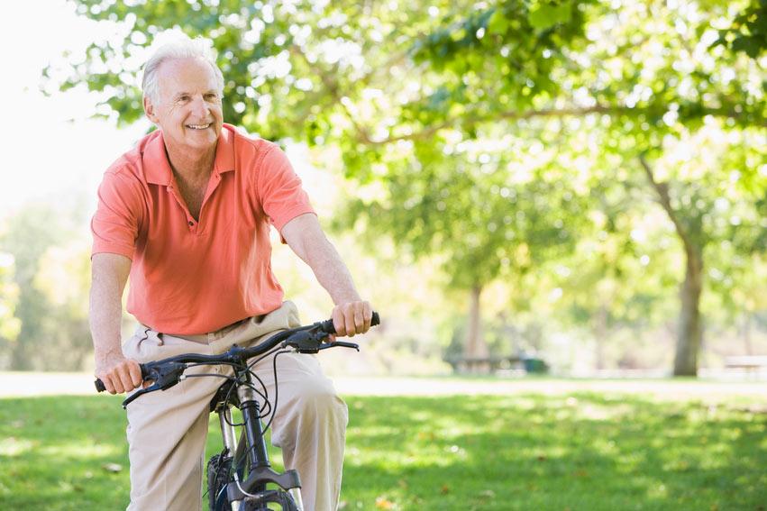 Езда на велосипеде при болезнях простаты