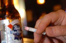Злоупотребление алкоголя и куреня