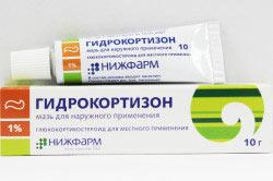 Мазь с гидрокортизоном для лечения жжения в заднем проходе
