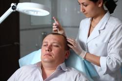 Лечение облысения в клинике