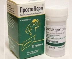 Простанорм в таблетках для лечения болезней простаты