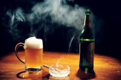 Алкоголь и курение ухудшают качества спермы
