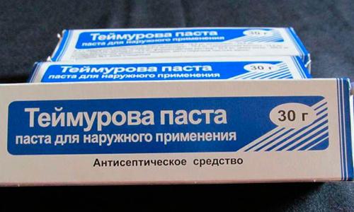 Антисептическое средство Паста Теймурова
