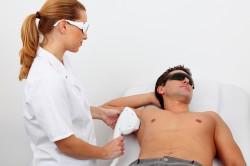 Лазерная терапия гипергидроза