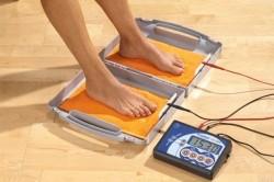Процедура ионофореза при гипергидрозе ног