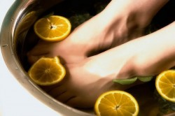 Ванночки с корой дуба и лимоном