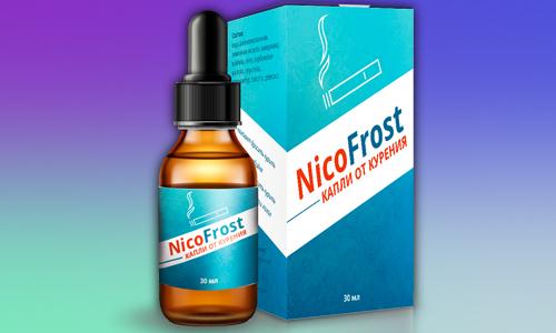 Лекарственные капли НикоФрост