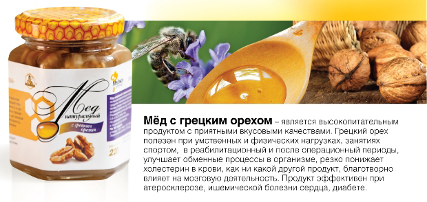Грецкие орехи с мёдом для потенции